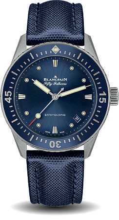 Blancpain Fifty Fathoms Bathyscaphe 5100 1140 O52A